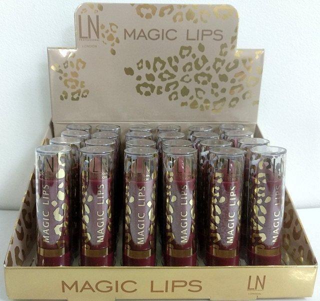 Набір помад для губ LN Professional Magic Lips Lipstick, ЛН Профешнл сет 24шт-12видів по 2шт