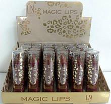 Набор помад для губ LN Professional Magic Lips Lipstick, ЛН Профешнл сет 24шт-12видів по 2шт