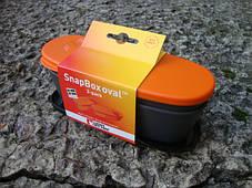 Туристическая посуда SnapBox oval 2-pack Orange/Blk (40418913), фото 3