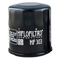 Масляный фильтр для мотоцикла Honda , Kawasaki , Yamaha ( Hiflo Filtro HF303 )