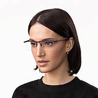 Очки компьютерные IQ Vision ULTRA женские в полу-оправе чёрные (2021)