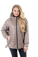 Демі Куртка жіноча повсякденна розмір 46-56, фото 1
