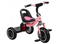 Велосипед трехколесный EVA, розовый