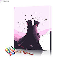 Картина по номерах Аніме # 1 ArtSale розмір 40х50 см