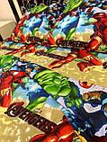 Комплект постільної білизни підлітковий Бетмен, фото 7