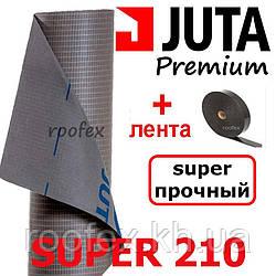 Супердиффузионная мембрана JUTA Super 210 (Суперпрочная армированная подкровельная мембрана)