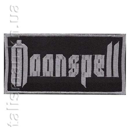 MOONSPELL - нашивка с вышивкой