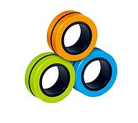 Магнитные кольца антистресс спиннер/fidget spinner/фиджет кольца/ разноцветные