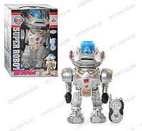 Робот на радиоуправлении Super Robot 28085 Детские игрушки Ходит,Танцует,Говорит,Поёт,Стреляет
