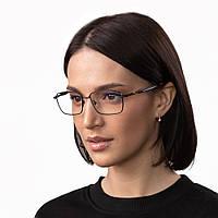 Очки компьютерные IQ Vision QUAD женские в прочной и стильной оправе чёрные (2021)