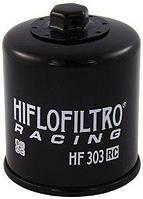 Масляный фильтр для мотоцикла Honda , Kawasaki , Yamaha ( Hiflo Filtro HF303RC )