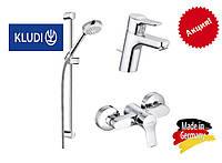 Набор смесителей для ванной Kludi Pure&Easy 3in1 378450565