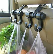 Універсальний автомобільний гачок-вішалка на спинку сидіння до 6 кг TV895, фото 2