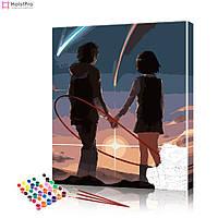 Картина по номерах Аніме # 10 ArtSale розмір 40х50 см