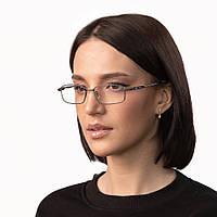 Очки компьютерные IQ Vision Т-1000 женские в прочной и стильной оправе серые (2021)