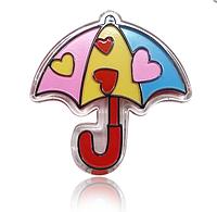 """Детский блеск для губ FFLEUR """"Зонтик"""" ABD LG-14 /04-7"""