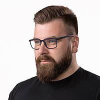 Очки компьютерные IQ Vision STYLE мужские в полной оправе синие (2021)