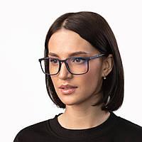 Очки компьютерные IQ Vision STYLE женские в полной оправе синие (2021)