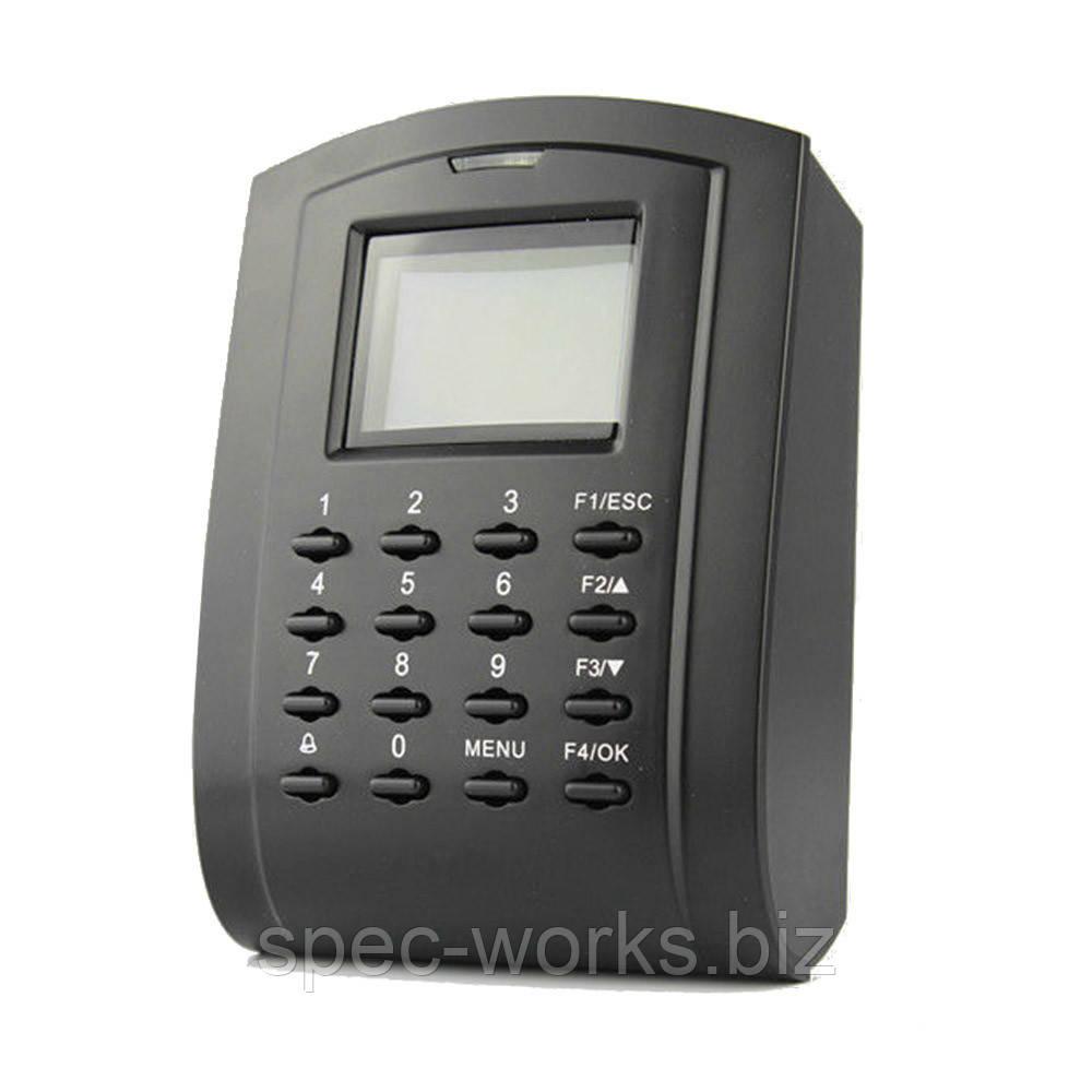 Сетевой терминал контроля доступа с идентификацией по картам ZKTeco SC103 EM учет рабочего времени