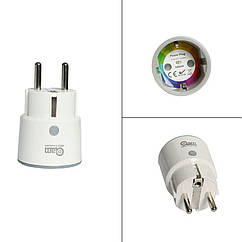 Умная Wi-Fi розетка Coolcam Smart Plug. Совместима с Alexa Echo, Google Home, IFTTT для голосового управления