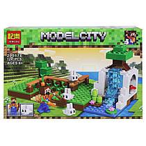 "Конструктор ""Minecraft: Ферма"", 124 деталі 20017A-F"
