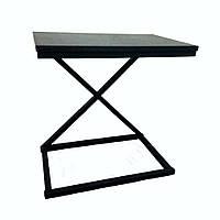 """Журнальный, кофейный приставной стол """"Х"""" в стиле лофт loft"""