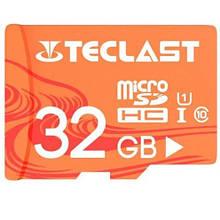 Карта памяті Teclast 32GB 10 Class Помаранчовий