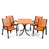 """Комплект меблів для дачі """"Таї"""" стіл (120*80) + 4 стільця Твк"""