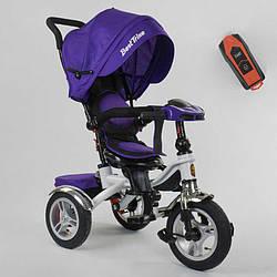 Велосипед 3-х колёсный 5890 / 85-975 Best Trike (1) ФАРА C USB, ПОВОРОТНОЕ СИДЕНИЕ, СКЛАДНОЙ РУЛЬ,