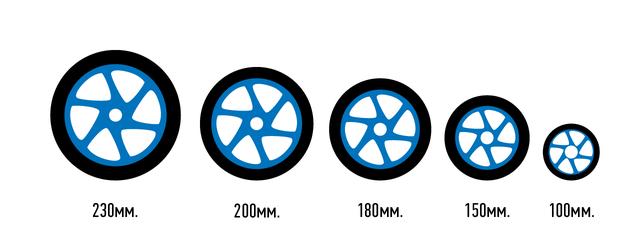 Размер колес для самоката