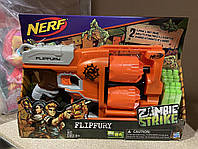Бластер Нерф Зомби Страйк Переворот Nerf Zombie Strike FlipFury Blaster A9603