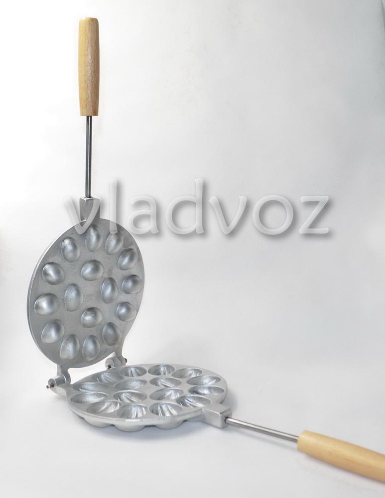 алюминиевая орешница для орешков на 16 шт.