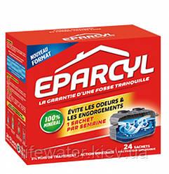 Биоактиватор для септика, биопрепарат для выгребных ям, туалетов Eparcyl (Эпарсил) 864 г.,