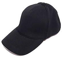 Кепка трикотажная Fashion резинка S черная