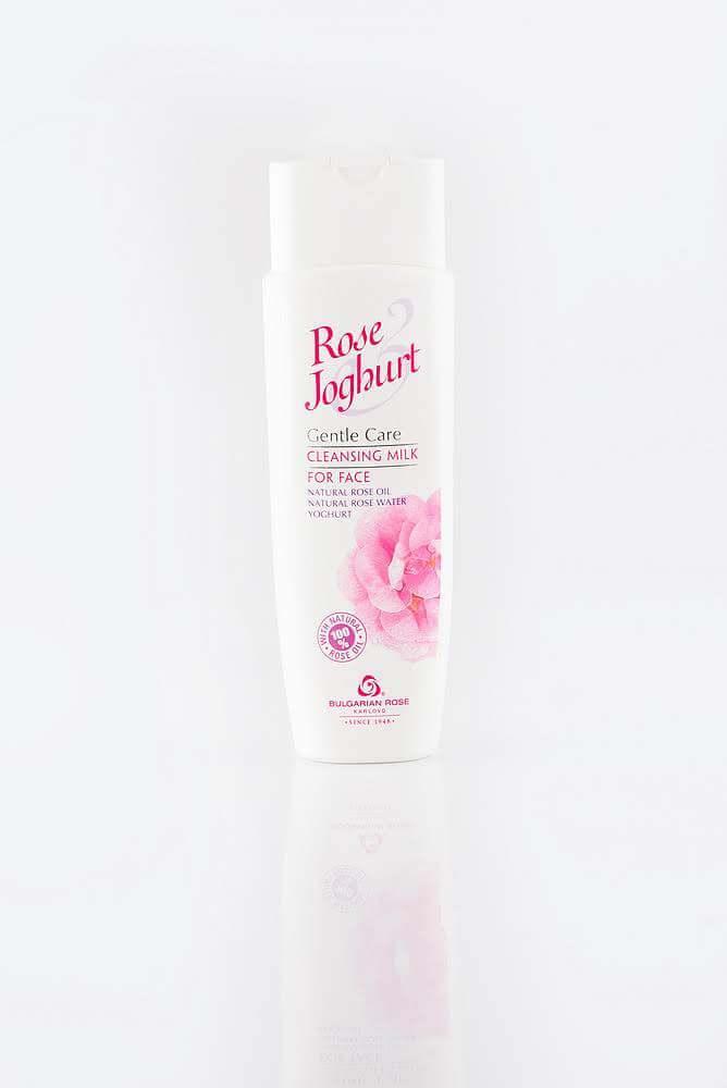 BULGARIAN ROSE ROSE JOGHURT CLEANSING FACE MILK Очищуюче молочко для обличчя