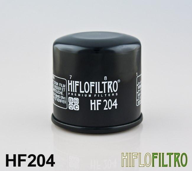Масляный фильтр для мотоцикла Honda , Kawasaki , Yamaha ( Hiflo Filtro HF204 )