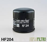 Масляный фильтр для мотоцикла Honda , Kawasaki , Yamaha ( Hiflo Filtro HF204 ), фото 1