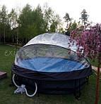 Бассейн с куполом EXIT - отпуск в своём саду