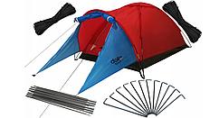 Палатка DolloSport Cloud2 оранжевая для кемпинга