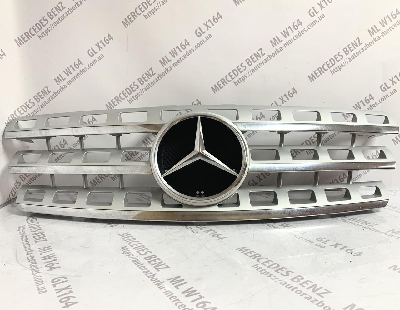 Решетка радиатора Mercedes ML W164 рестайл Мерседес МЛ 164 2008 2009 2010 2011