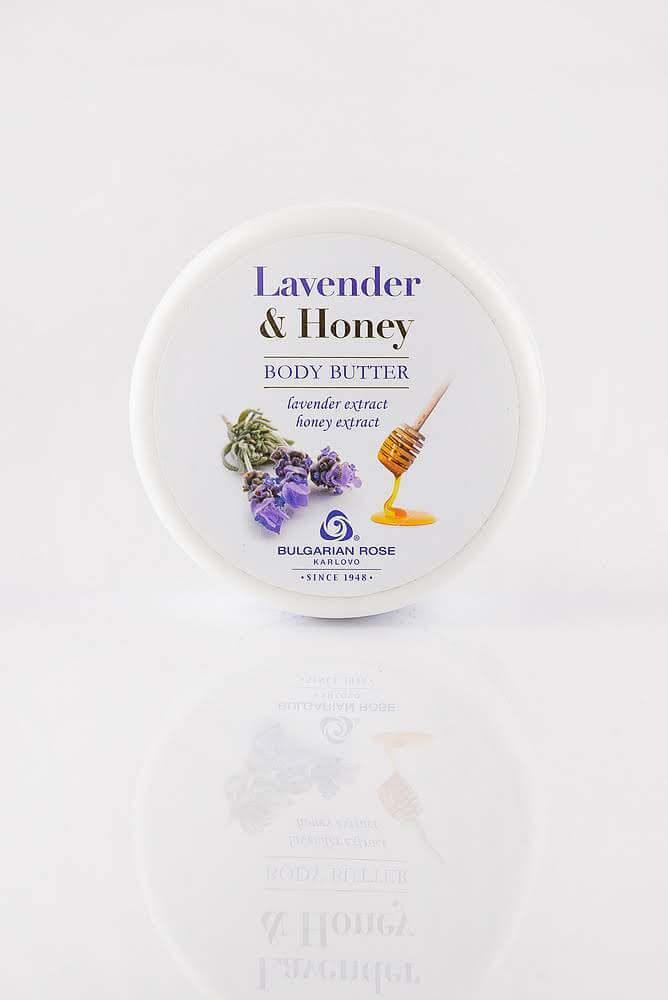 BULGARIAN ROSE LAVENDER AND HONEY BODY BUTTER Масло для тіла