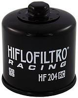 Масляный фильтр для мотоцикла Honda , Kawasaki , Yamaha ( Hiflo Filtro HF204RC ), фото 1