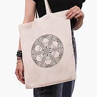 Еко сумка шоппер Инопланетяни (Aliens) (9227-2852) 41*35 см, фото 1
