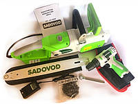Электропила Sadovod SPL-29-400E (2.9 кВт) + шуруповерт Sadovod SCD-12-2RE В ПОДАРОК, фото 1