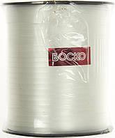 Стрічка фольгована для повітряних кульок та декору біла