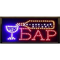 """Светодиодная LED вывеска табло """"Бар"""""""