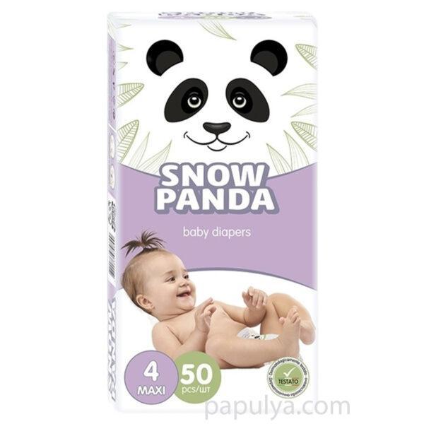 Подгузники Снежная Панда Maxi 4 (50 шт / 7-18 кг)