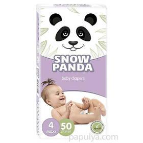 Підгузники Сніжна Панда Maxi 4 (50 шт / 7-18 кг)