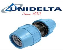 Муфты соединительные для полиэтиленовых труб UNIDELTA