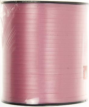 Стрічка фольгована для повітряних кульок та декору рожева